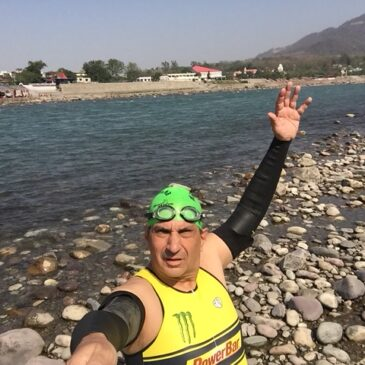 Ganges River Swim Report